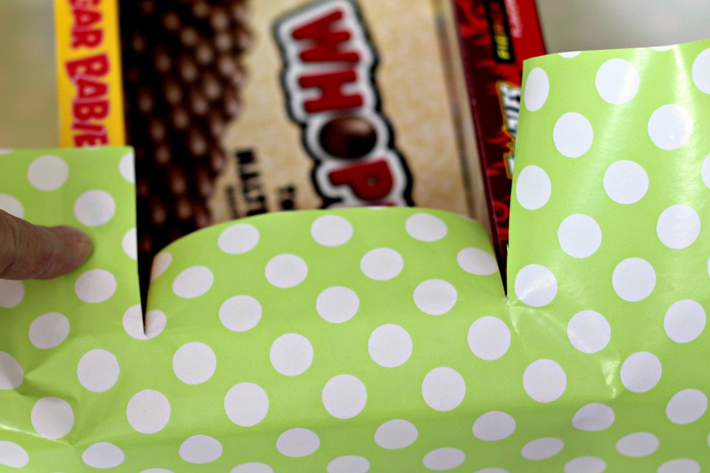 Candy Box Easter Basket wrapping
