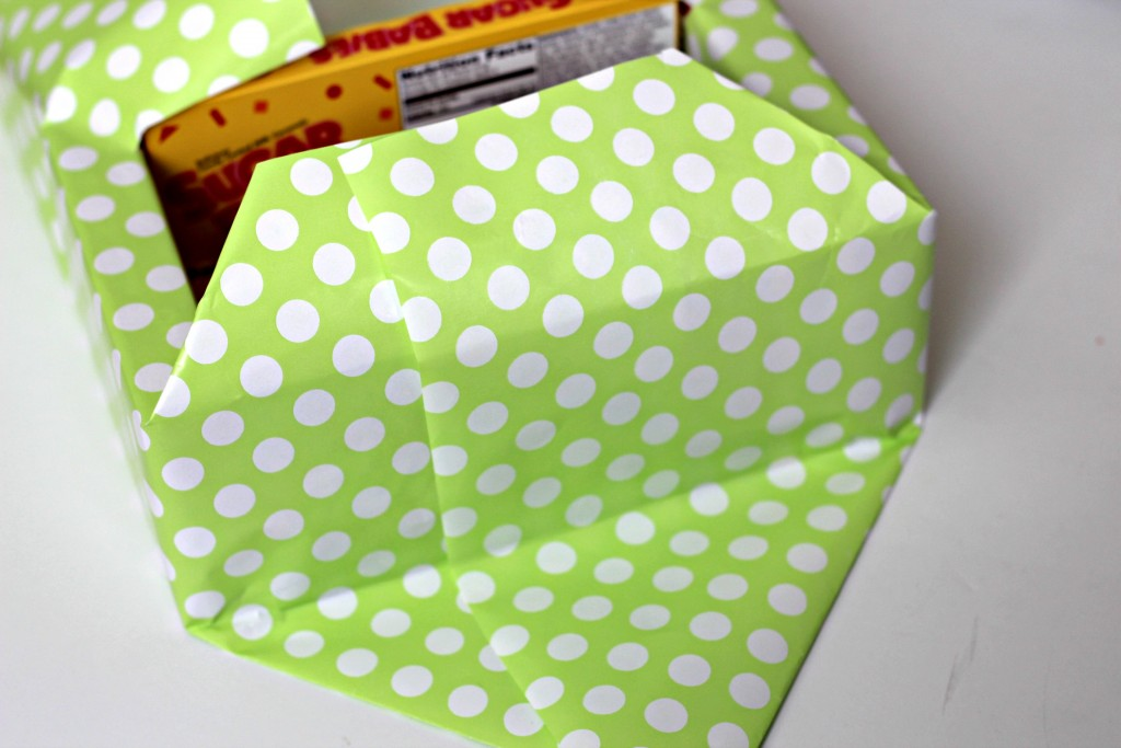 Candy Box Easter Basket wrapping paper