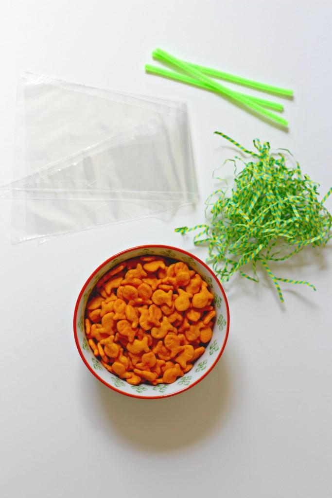 Carrot Treat Bag supplies