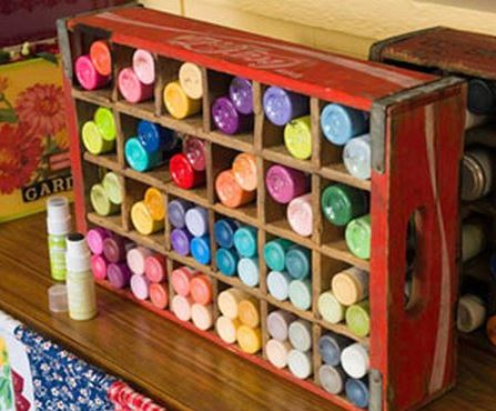 Creative Storage Craft Paint