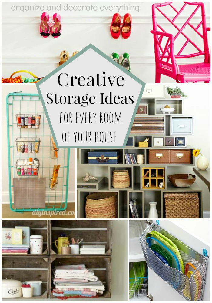 Creative Storage Ideas for Every Room of Your House