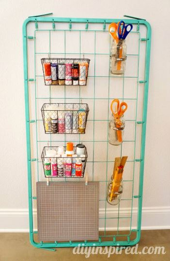 Creative Storage for Craft Supplies