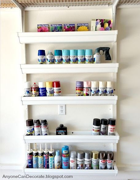 Creative Storage for Paint