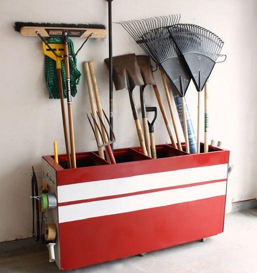 Creative Storage garage