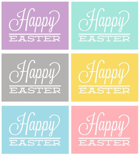 Easter Printables .6