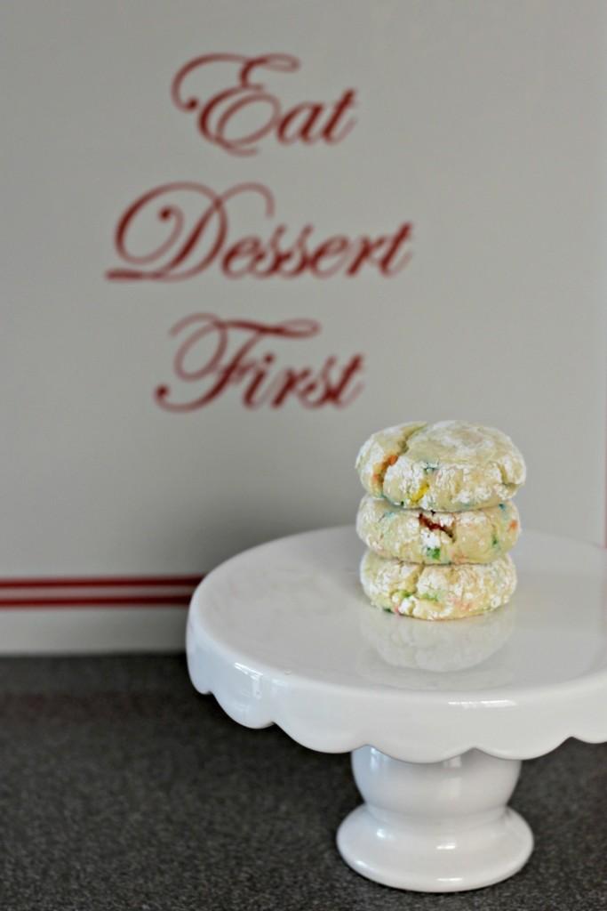 Funfetti Cookies Eat Dessert First