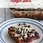 Gluten Free Blackberry Magic Bars