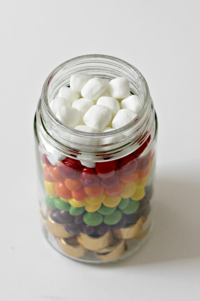 Rainbow Candy Jar marshmallows