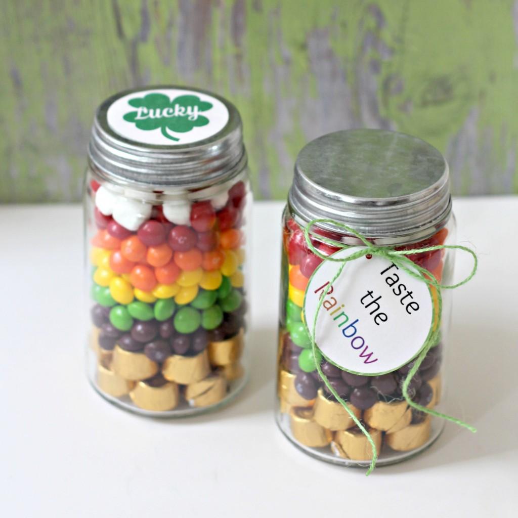Rainbow Candy Jar square photo