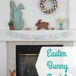 Easter Bunny Mantel