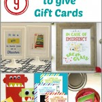 9 Creative Ways to give Gift Cards
