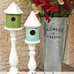 Candlestick Bird Houses
