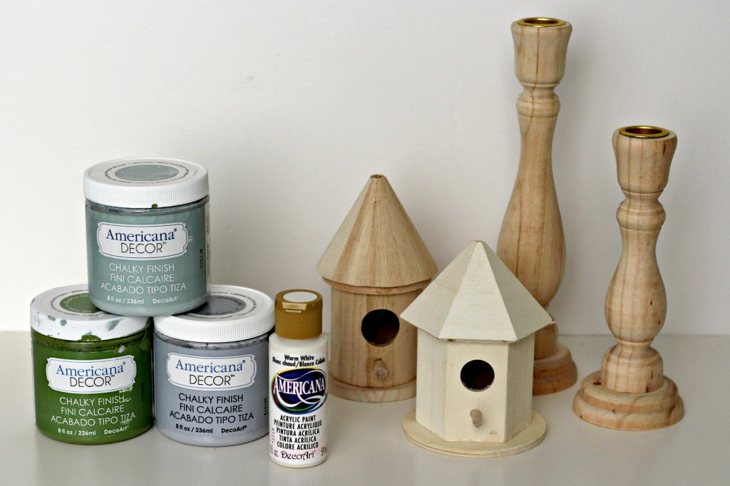 Candlestick Bird Houses supplies