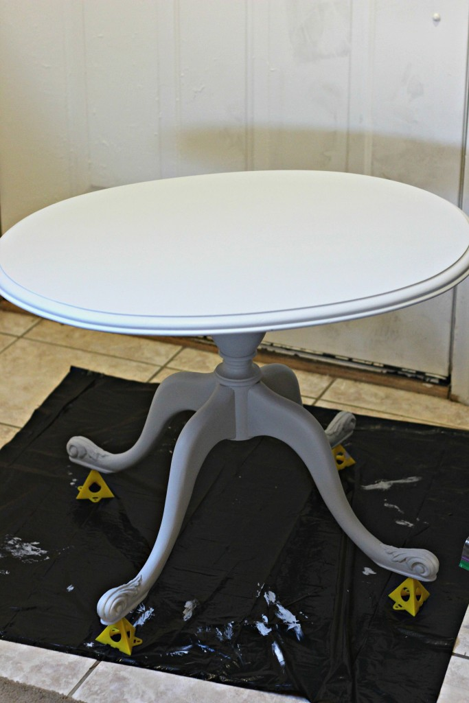 Coffee Table 2nd coat of paint