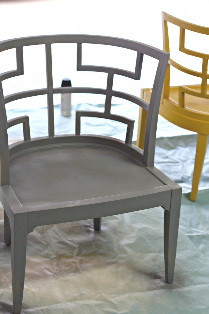 Curved Back Accent Chair primer