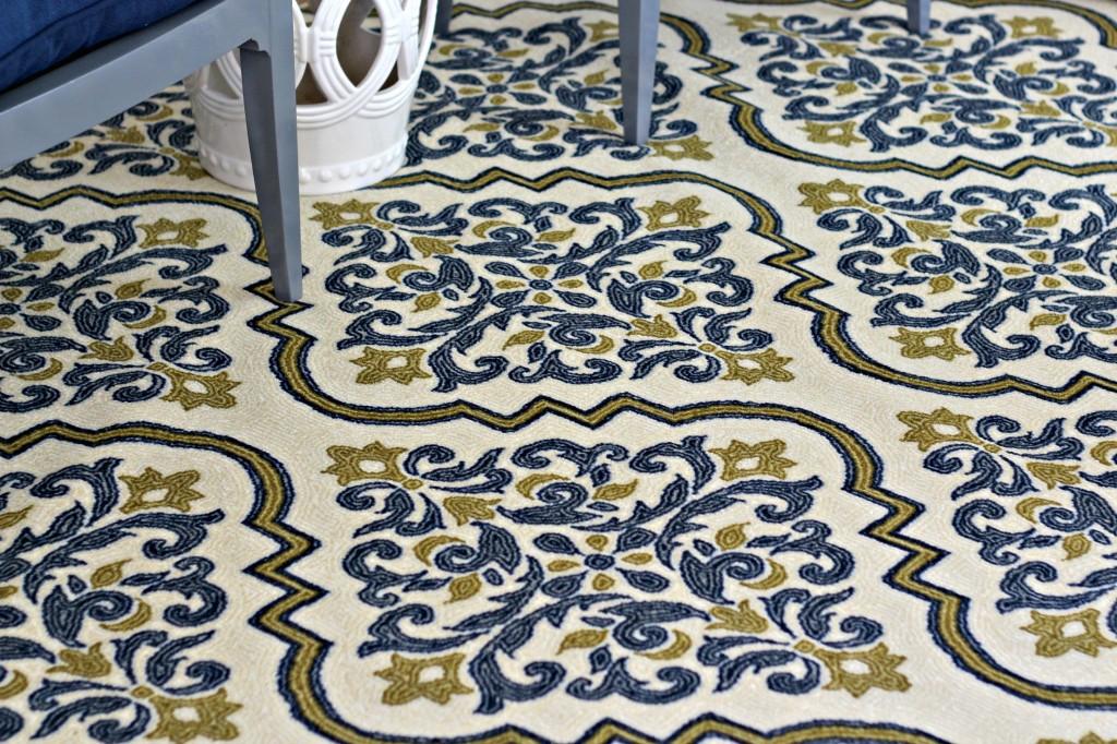 Decorating a Rental Mohawk rug