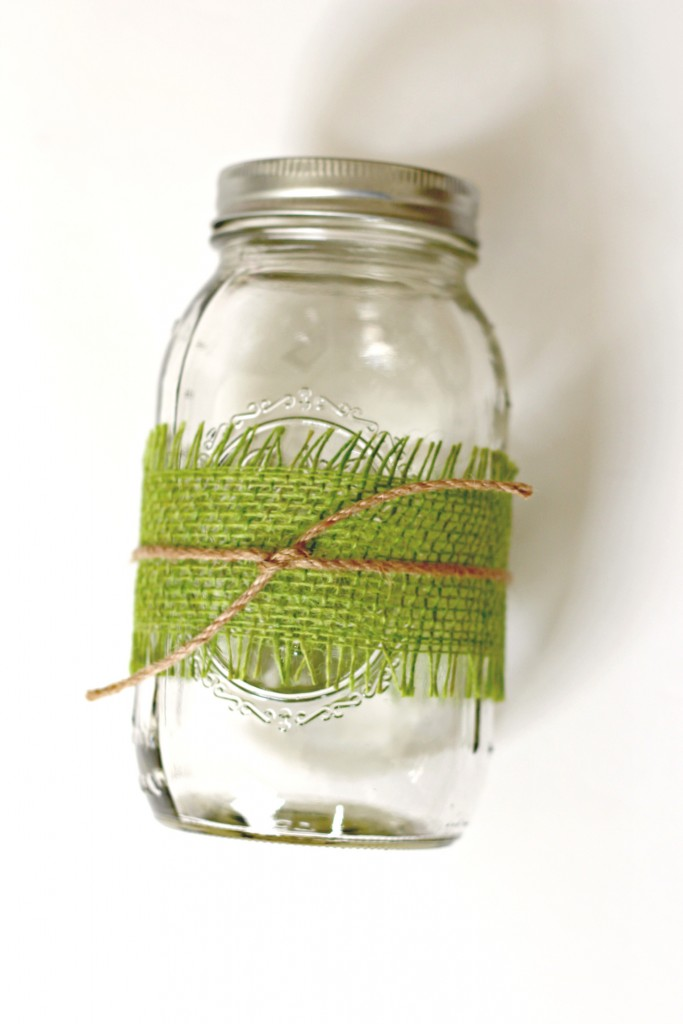 Flower Blossom Branches Mason Jar