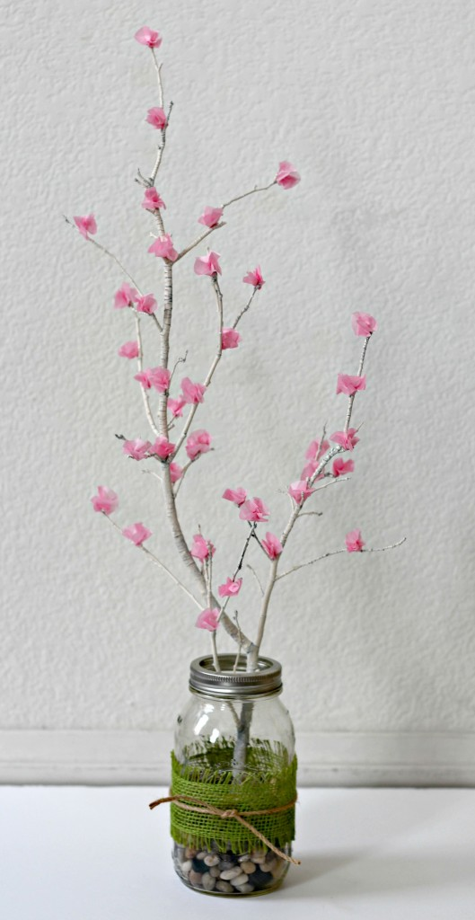 Flower Blossom Branches in pink