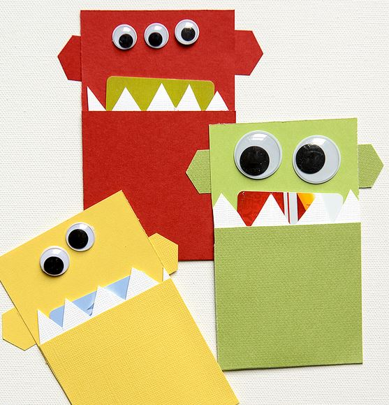 Gift Card Holder Monsters
