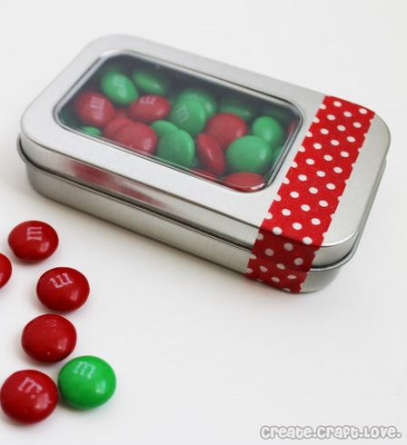 Gift Card in Candy Tin