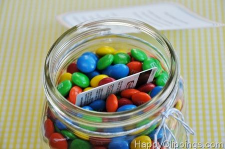 Gift Card in Candy