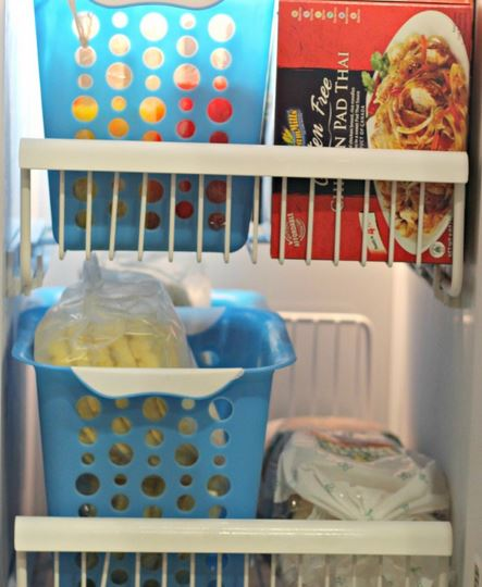 Kitchen Organizing Freezer