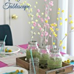 DIY Spring Brunch Tablescape