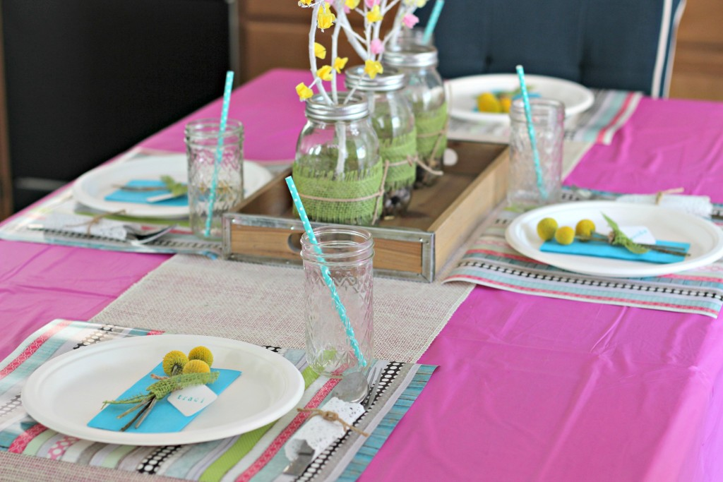 Spring Brunch Decorated Table