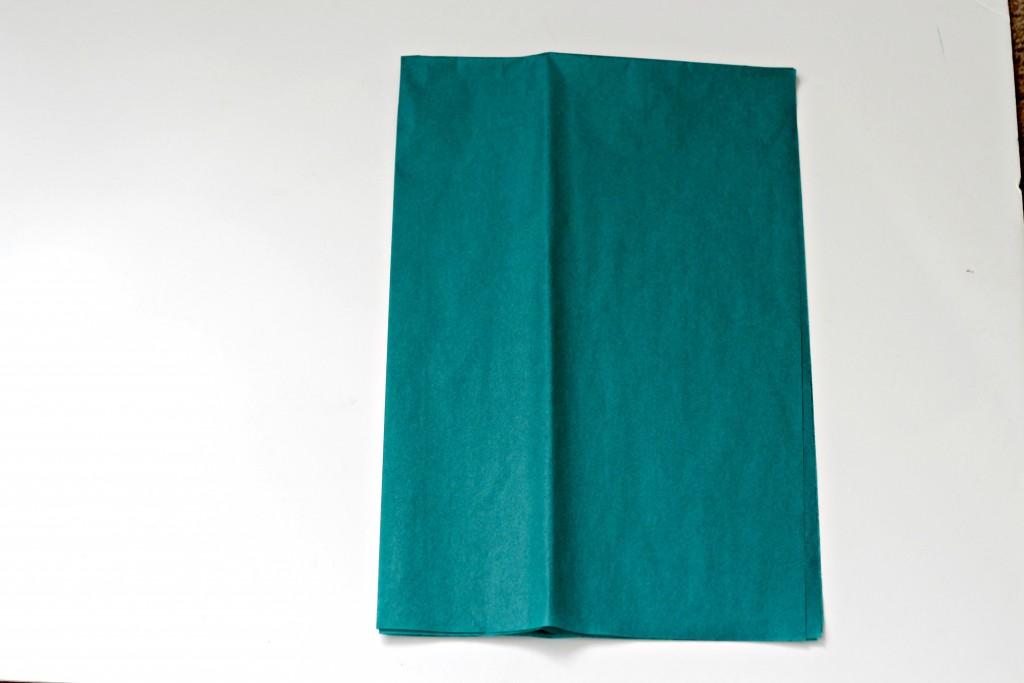 Tassel tissue paper