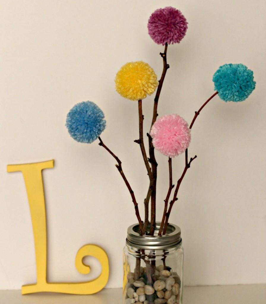 Pom Pom Flowers facebook