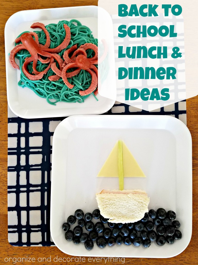 Back to School Lunch and Dinner Ideas by Tyson