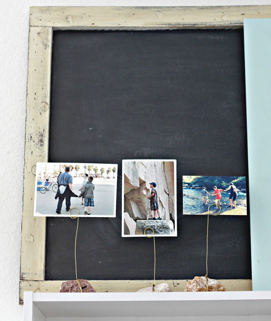 Rock Photo Holders with photos