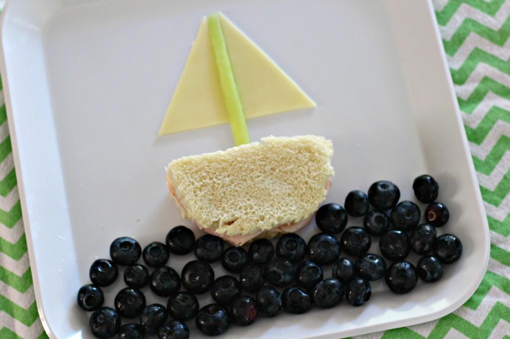 Tyson turkey sandwich blueberries