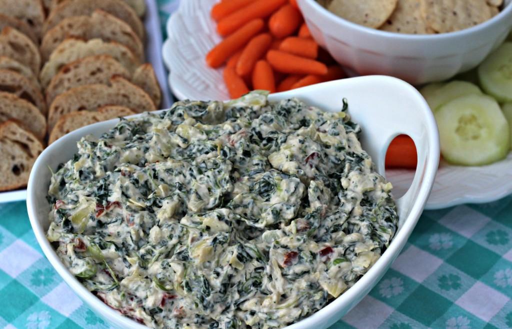 creamy spinach & artichoke dip 7