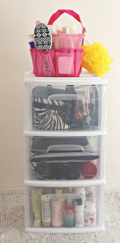 Bathroom storage drawers