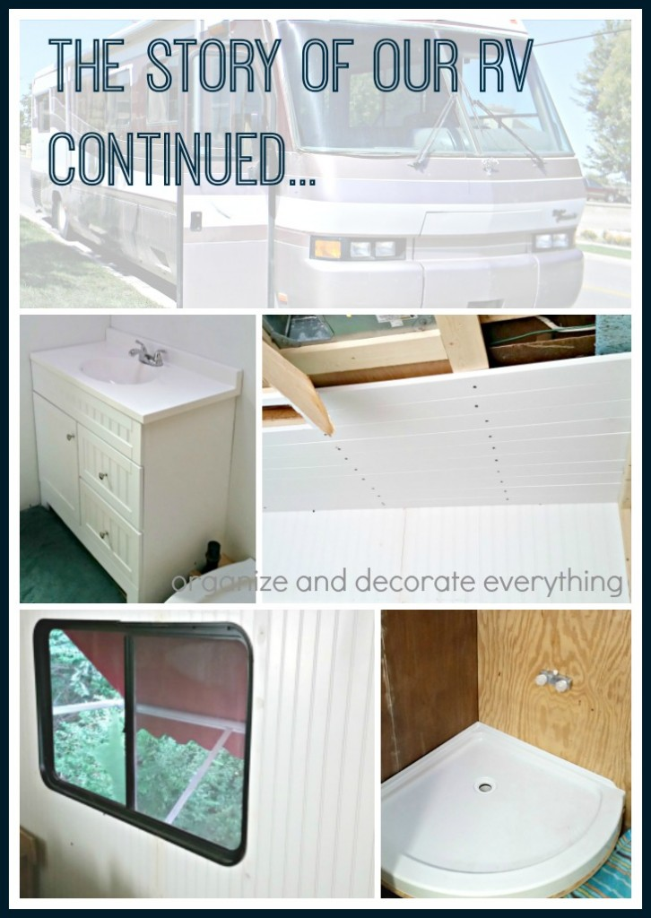 Building and Renovating the inside of an RV, the story of our RV continued