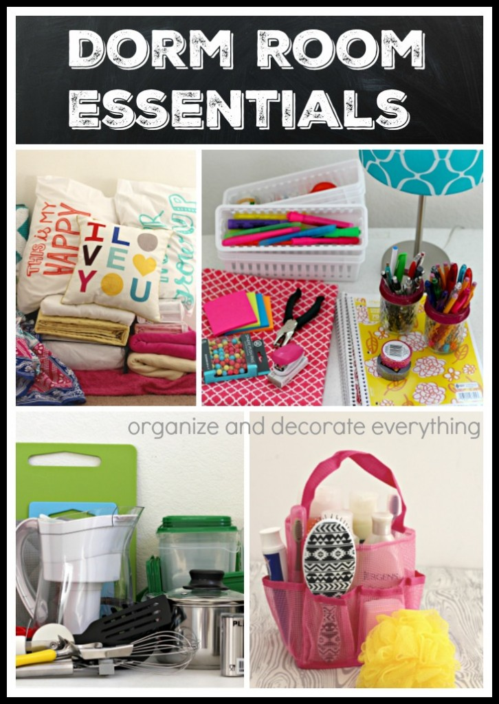 Dorm Room Essentials Organize And Decorate Everything - Dorm room essentials