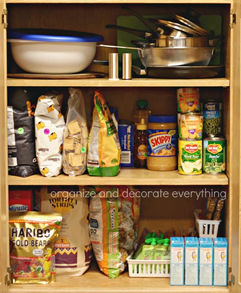 Dorm Room shared pantry