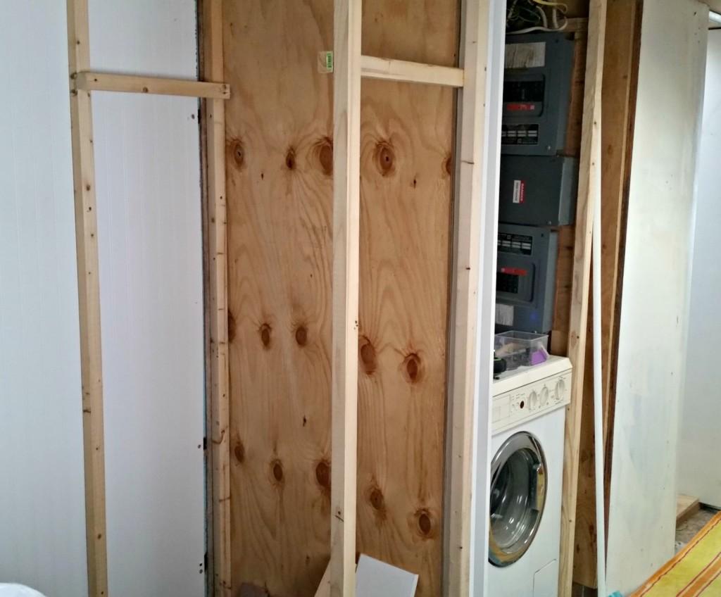 RV building closet