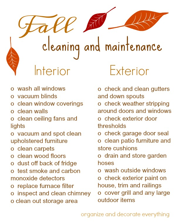 fall-cleaning-and-maintenance-printable