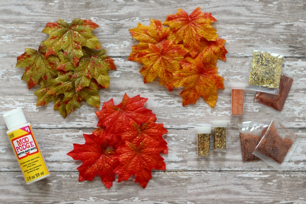fall-glitter-leaves-supplies