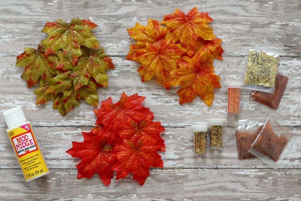 fall-glitter-leaves-supplies