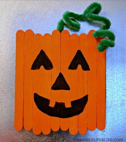 halloween-kids-craft-popsicle-stick-square-pumpkin