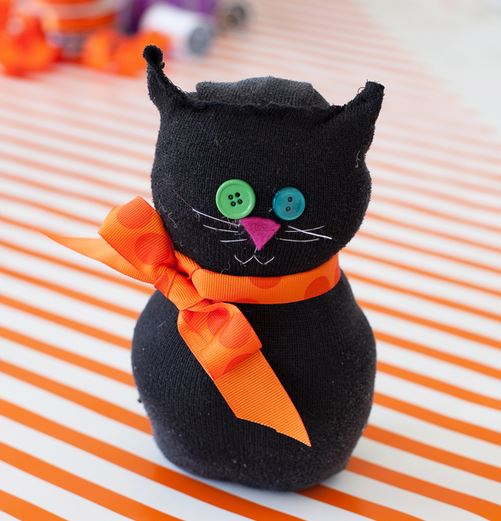 halloween-kids-crafts-sock-cat