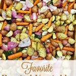 Favorite Roasted Vegetables