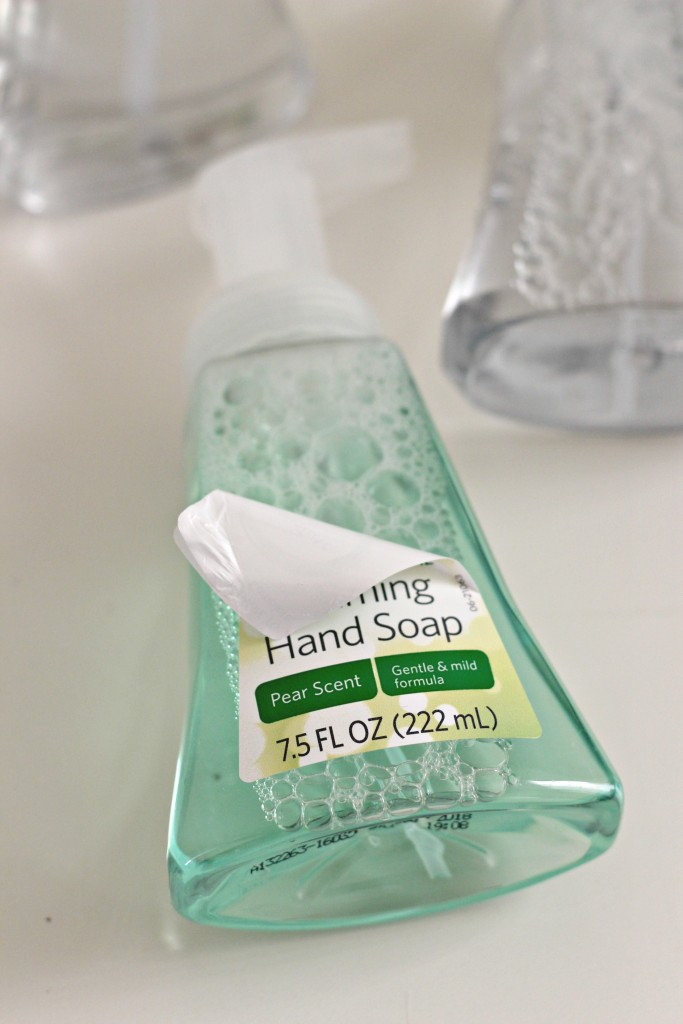 christmas-hand-soap-removing-label