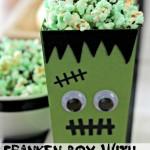 Franken Popcorn Box with Franken Popcorn