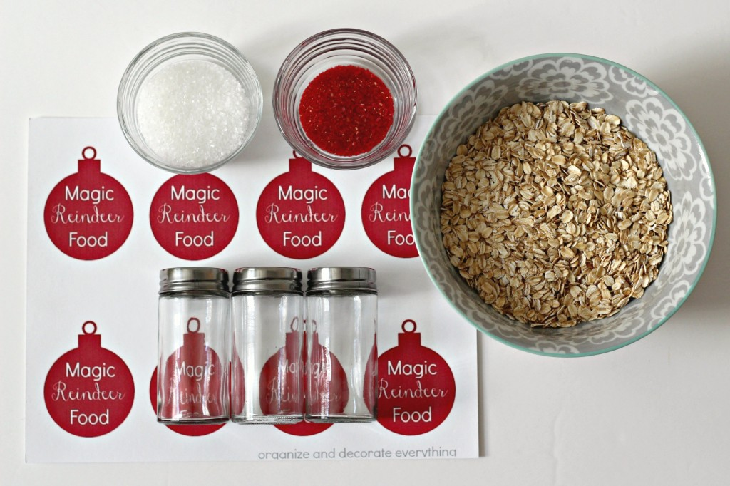 Magic reindeer food and printable tags organize and decorate magic reindeer food ingredients forumfinder Images