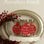 Magic Reindeer Food (and printable tags)