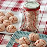 Santa Crinkle Cookies